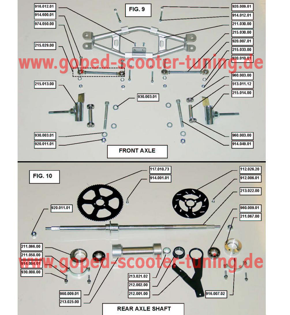 GoPed & Scooter Tuning