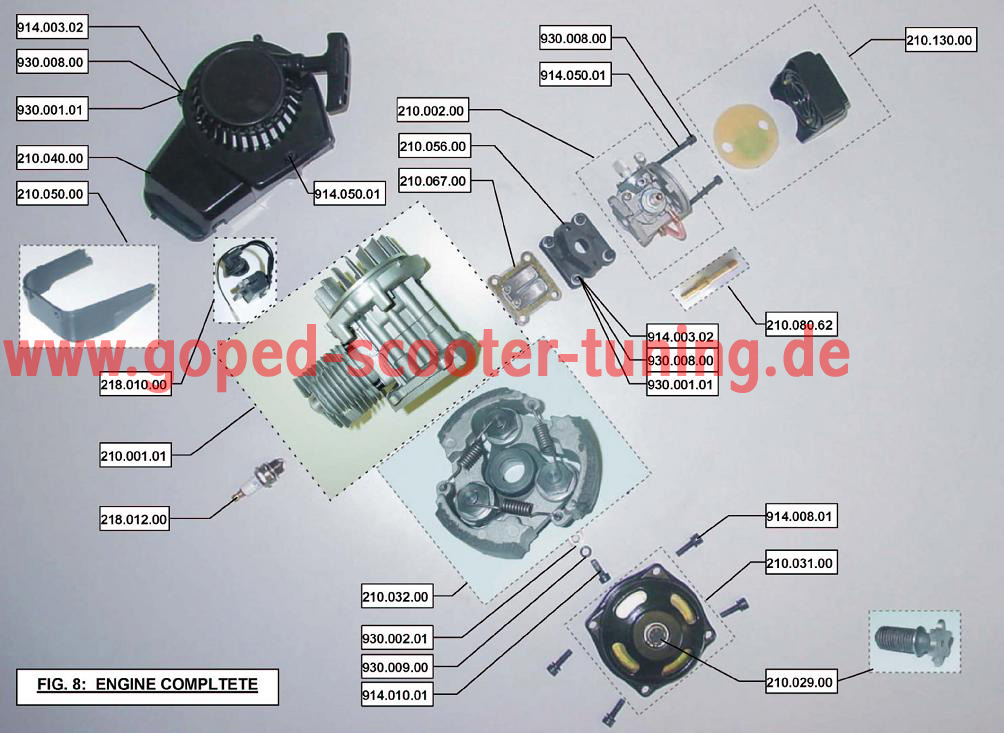 Goped Engine Diagram - All Wiring Diagram