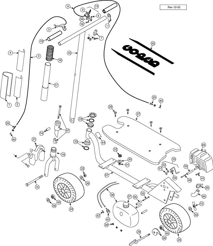 Goped Parts Diagram